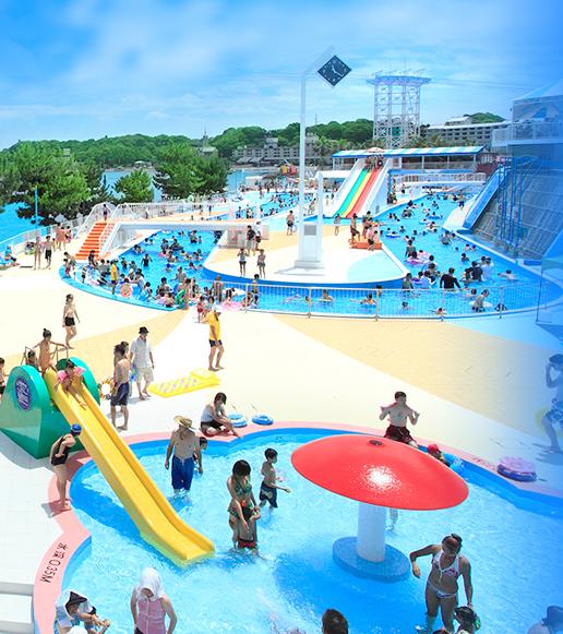 暑い夏は海・プールに行こう!今どきのウォーターパーク【愛知県周辺】